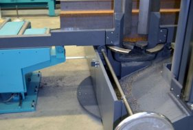 Material Checking through Clamping Device