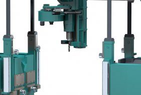 Automatic Material Clamping and Material Measurement