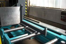 Standard Measuring System on the Feed Side for Sawing Machines