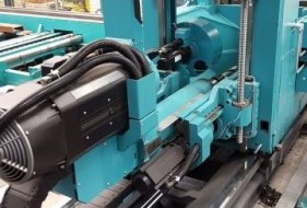 Robust Drill Carriage with Drill Spindle