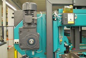 Saw Band Drive (7.5 kW) / Saw Band Feed