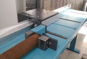 Automatic Material Pusher and Length Stop L 41 P